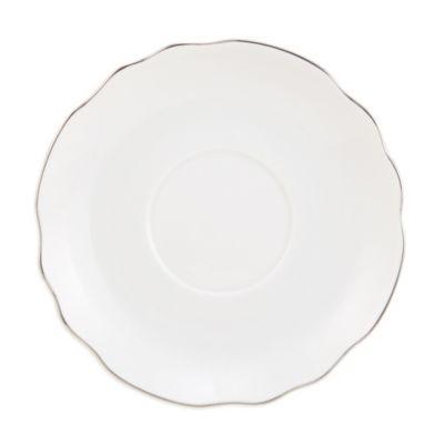 Pickard Georgian Platinum Ultra White Dinnerware