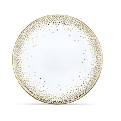 Pickard Kelly Wearstler Trousdale Gold Ultra White Dinnerware
