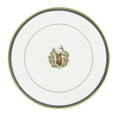 Pickard Charlotte Moss Stag Ultra White