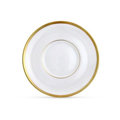 Pickard Signature White With Gold Dinnerware