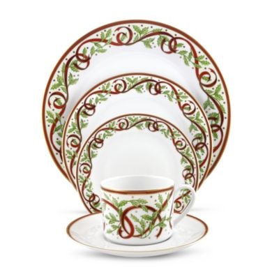 Pickard Festival White With Gold Dinnerware