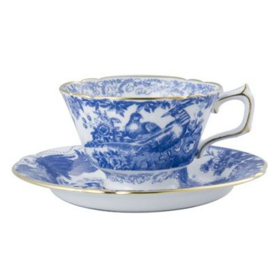 Royal Crown Derby Blue Aves Dinnerware