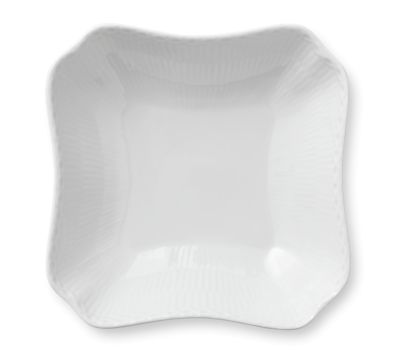 Royal Copenhagen White Fluted Half Lace Dinnerware