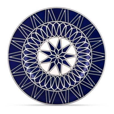 Royal Limoges Blue Star Bread & Butter Plate