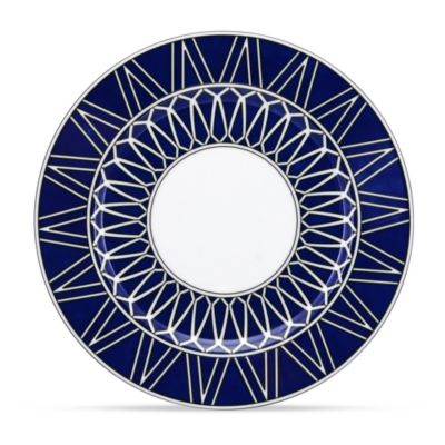 Royal Limoges Blue Star Dessert Plate