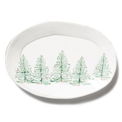 vietri lastra holiday oval platter