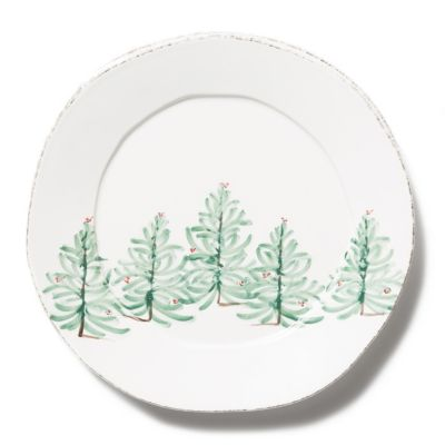 vietri lastra holiday round platter
