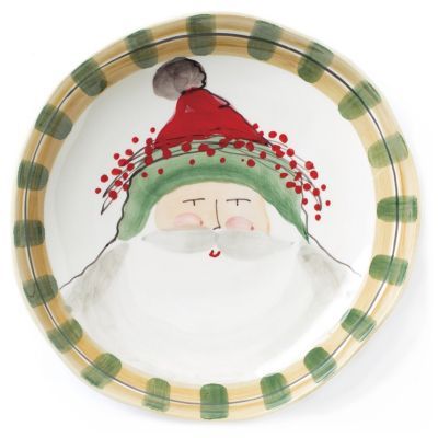 vietri old st. nick large shallow serving bowl