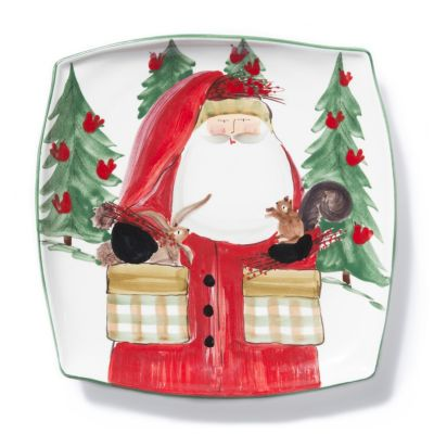 vietri old st. nick 2017 limited edtion square platter