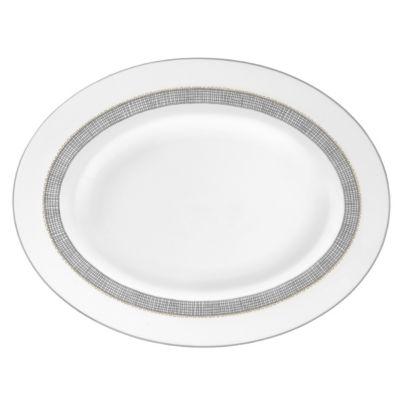 Vera Wang Gilded Weave Platinum Dinnerware