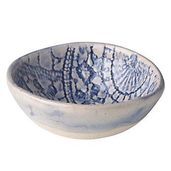 Wonki Ware Ferris Blue Dipping Bowl