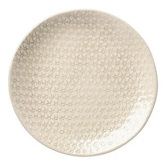 Wonki Ware Starburst Smoke Accent Plate