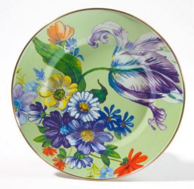 MacKenzie-Childs_Flower_Market_Enamel_Dinnerware,_Green
