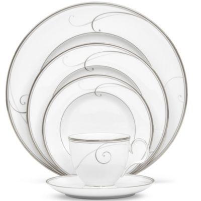 Noritake_Platinum_Wave_Dinnerware