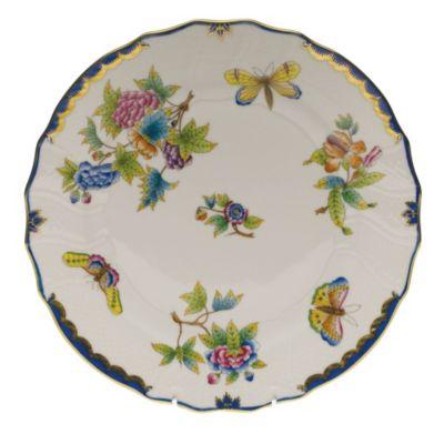 Herend_Queen_Victoria_Blue_Border_Dinnerware
