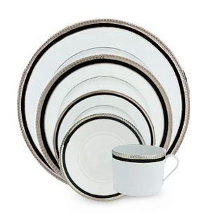 Haviland_Symphonie_Platinum_and_Black_Dinnerware