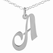 Sterling_Silver_Fancy_Script_Initial_Pendant