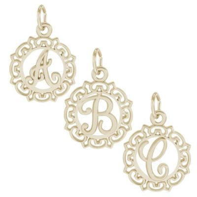Rembrandt_14K_Yellow_Gold_Initial_Charms