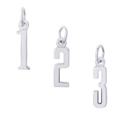 Rembrandt_Sterling_Silver_Number_Charms