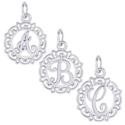 Rembrandt_Sterling_Silver_Initial_Charms