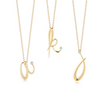 Kwiat_18K_Yellow_Gold_Diamond_Initial_Pendant