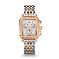 Michele_Signature_Deco_Two-Tone_Rose_Gold_Watch