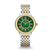 Serein_16_Two-Tone_Watch,_Green_Dial