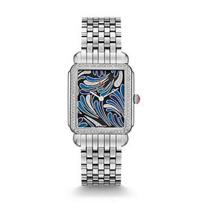 Michele_Deco_II_Bijoux_Blue_Diamond_Dial_Watch