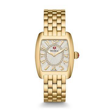 Michele_Urban_Mini_Gold,_Diamond_Dial_Watch