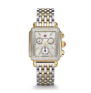 Michele_Signature_Deco_Two-Tone_Diamond_Watch