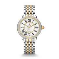 Michele_Serein_16_Two-Tone_Diamond_Dial_Watch