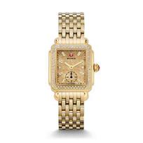 Michele_Deco_16_Diamond_Gold_Watch