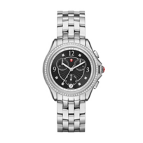 Michele_Belmore_Chrono_Diamond_Black_Dial_Watch