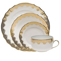 Herend_Fish_Scale_Gold_Dinnerware