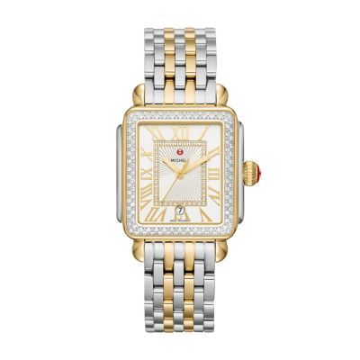 Michele_Deco_Madison_Two-Tone_Diamond_Bezel_Watch