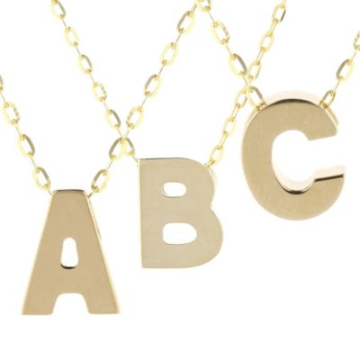 14k_yellow_gold_initial_pendants,_18""