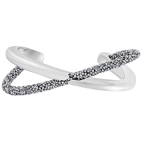swarovski_gray_crystaldust_cross_cuff_bracelet