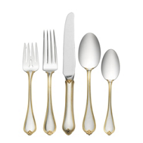 Towle_Old_Newbury_Gold_Accent_Sterling_Flatware