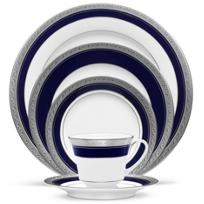 Noritake_Crestwood_Cobalt_Platinum_Dinnerware