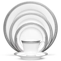 Noritake_Crestwood_Platinum_Dinnerware
