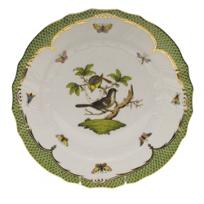 Herend_Rothschild_Bird_Green_Border_Dinnerware