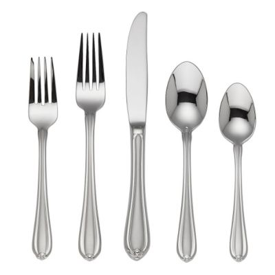 Gorham Melon Bud Frosted Stainless Flatware