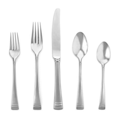 Lenox Federal Platinum Frost Stainless Flatware