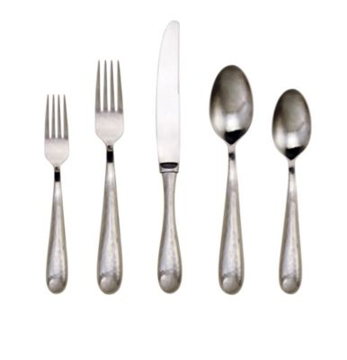 Ricci Florence Hammered Satin Flatware