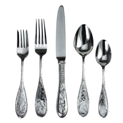 Ricci Japanese Bird & Bamboo Flatware