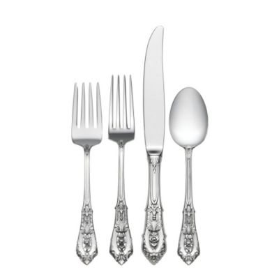 Wallace Rose Point Sterling Flatware