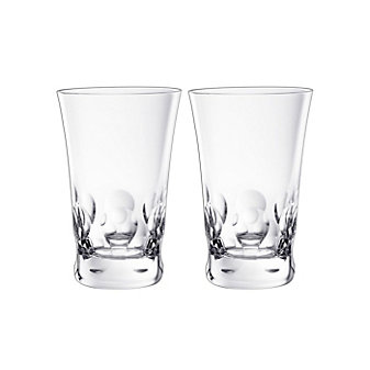 Baccarat Beluga Highball Set of Two