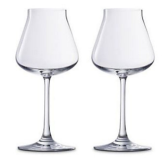 baccarat chateau red wine set of 2