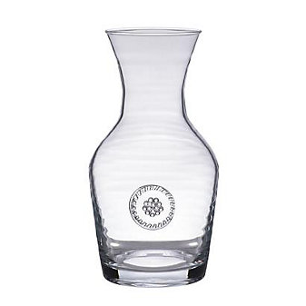 Juliska Berry & Thread Glassware Wine Carafe