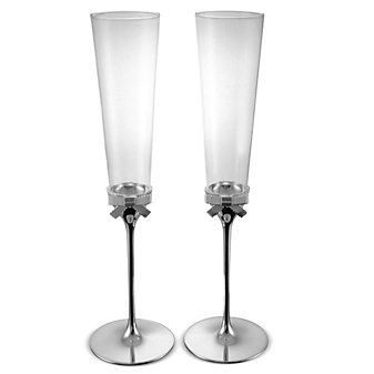 Kate Spade Grace Ave Toasting Flute Pair